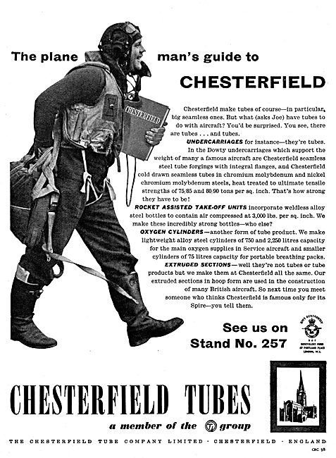 Chesterfield Tubes : Extrusions, Cylinders & RATO Units