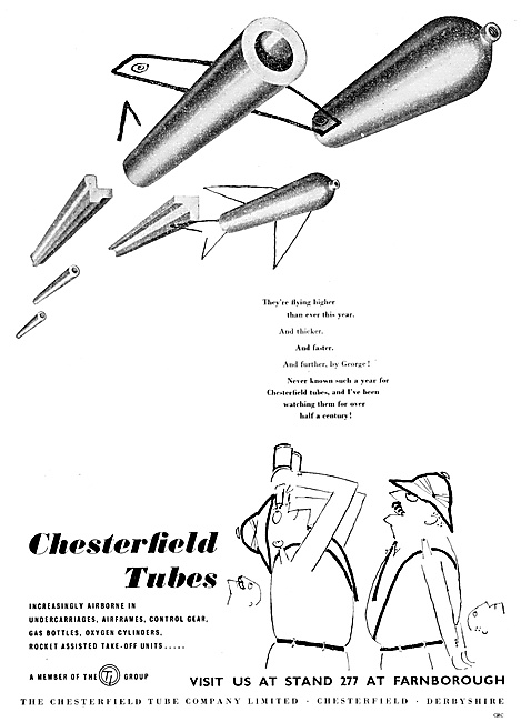T.I. Chesterfield Tubes 1959