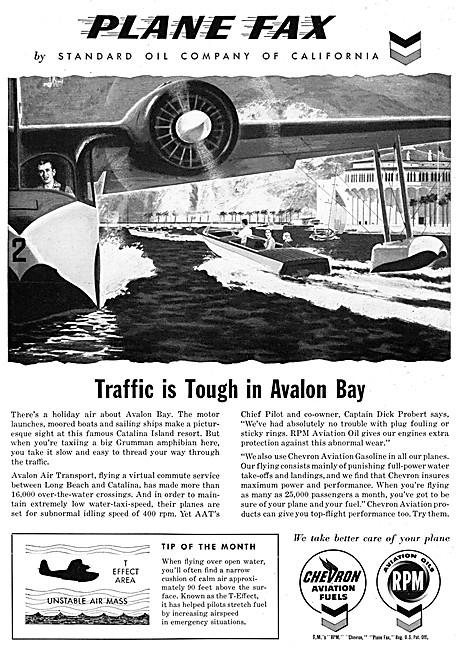 Chevron Aviation Fuels & RPM Aviation Oil