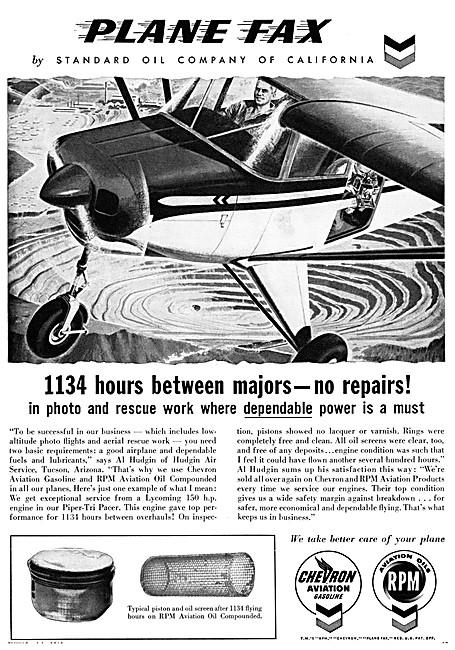 Chevron Aircraft Fuels & RPM Aviation Oil