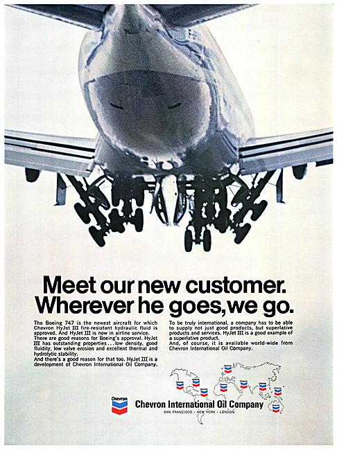Chevron Hy Jet III Oil