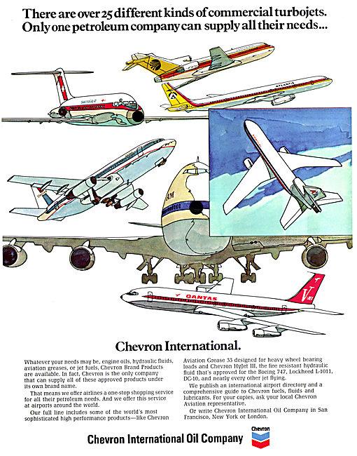 Chevron Aviation Oils & Lubricants