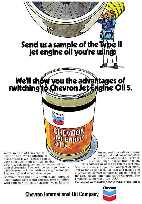 Chevron Jet Engine Oil 5