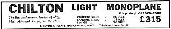 Chilton Light Monoplane