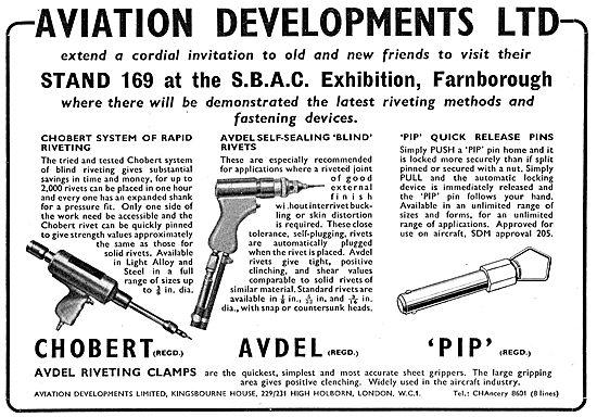 Aviation Developments - Chobert & Avdel Riveting Systems