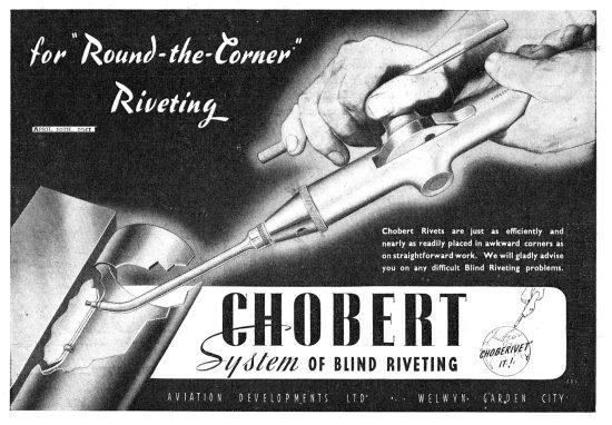 Chobert Blind Riveting System