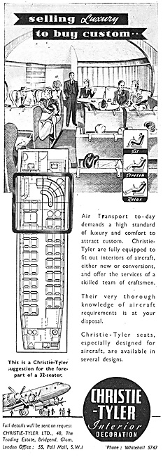 Christie-Tyler Aircraft Seating