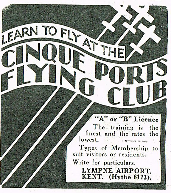 learn To Fly At the Cinque Ports Flying Club