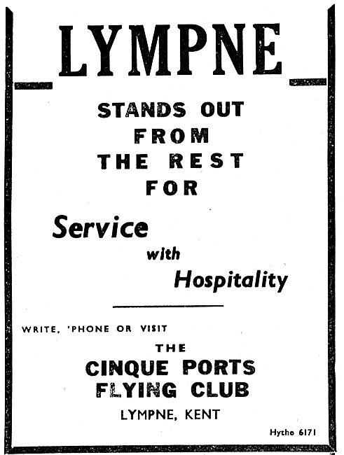 Cinque Ports Flying Club Lympne