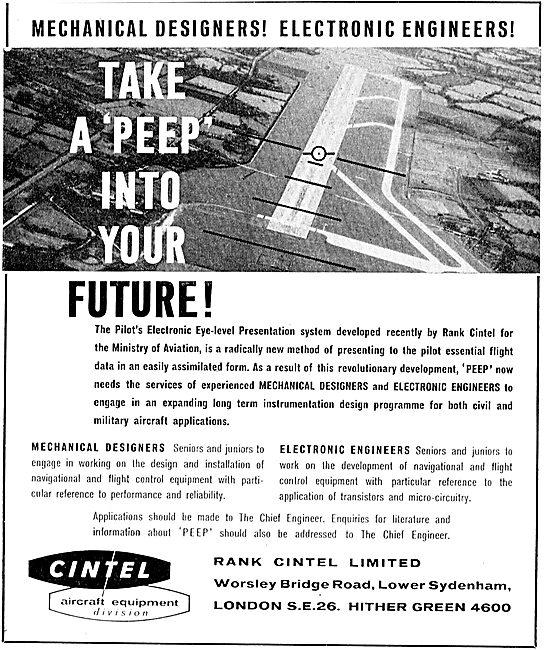 Rank Cintel PEEP: Electronic Eyelevel Flights System
