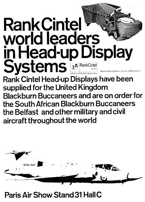 Rank Cintel Headup Display Systems