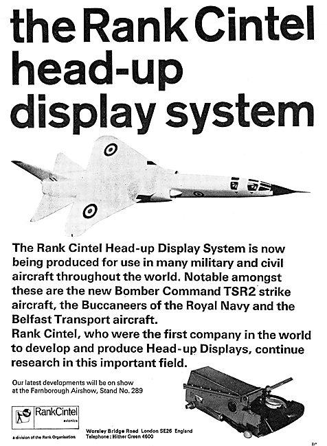 Rank Cintel Head-Up Display Systems