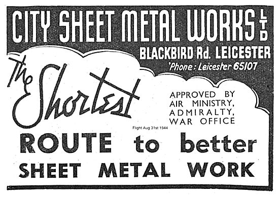City Sheet Metal Works. The shortest Route To Better Sheet Metal