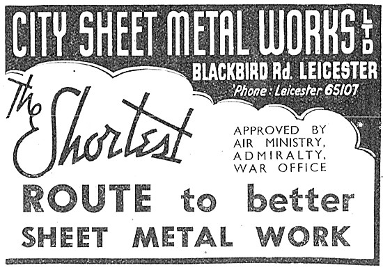 City Sheet Metal Works.Blackbird Rd, Leicester.