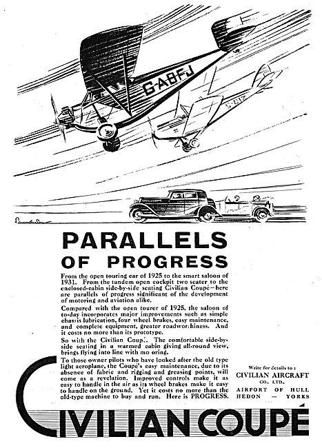 Civilian Aircraft Coupe