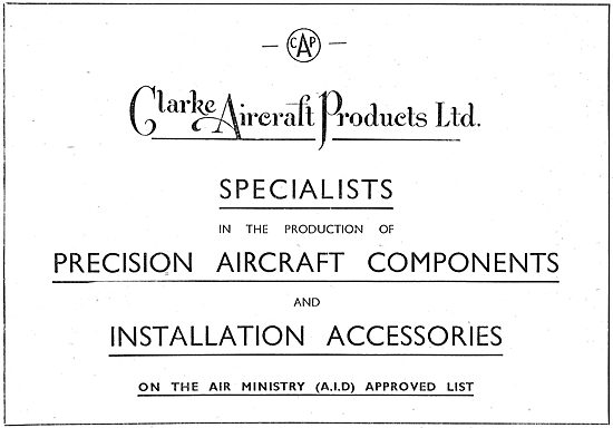 Clarke Aircraft Products: Precision Aircraft Components