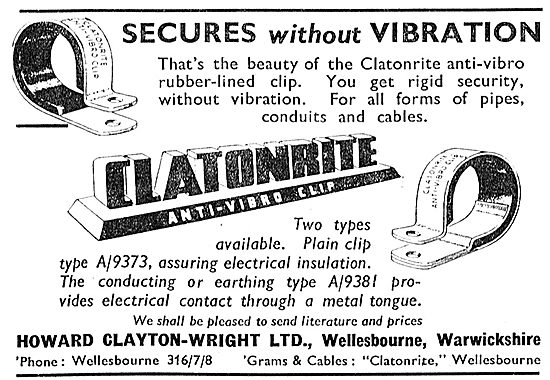 Howard Clayton-Wright - Anti Vibration Clips