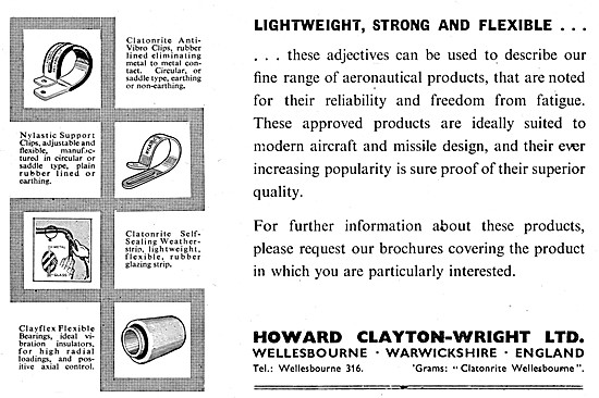 Howard Clayton-Wright Electrical Fittings & Accessories