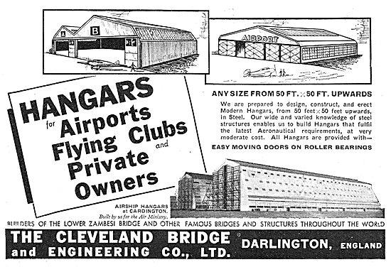 Cleveland Bridge - Designers & Constructors Of Aircraft Hangars