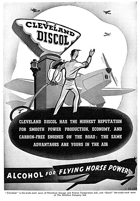 Cleveland Discol Aviation Fuel