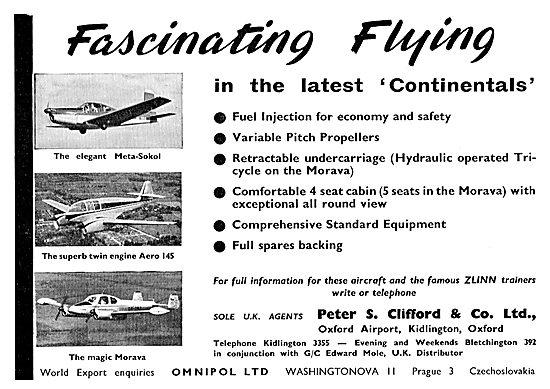Peter Clifford  Meta-Sokol -Aero 145 - Morava
