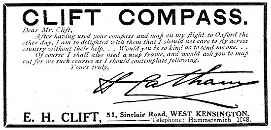 E.H.Clift - Aircraft Compasses