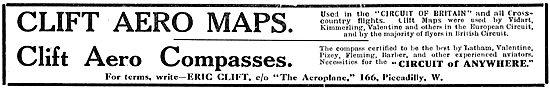 E.H.Clift Aero Maps & Compasses