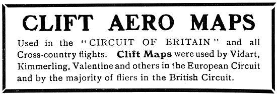 Clift Aero Maps