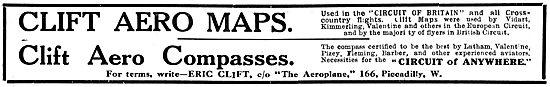 Clift Aero Maps - Clift Aero Compasses