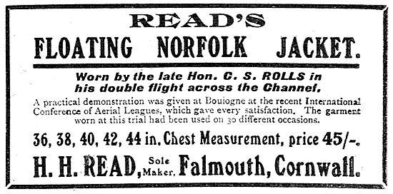 H.H.Read - Floating Norfolk Jacket