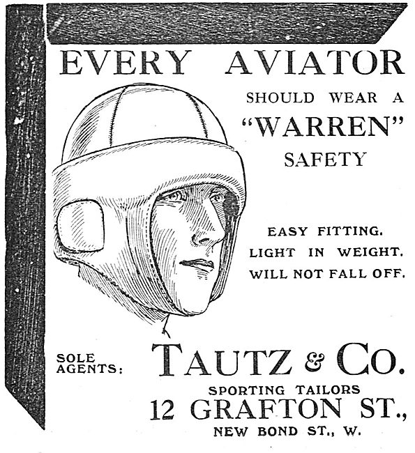 Every Aviator Should Wear A Warren Safety Helmet