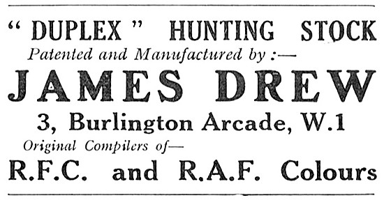 James Drew RAF Outfitters - Duplex Hunting Stock
