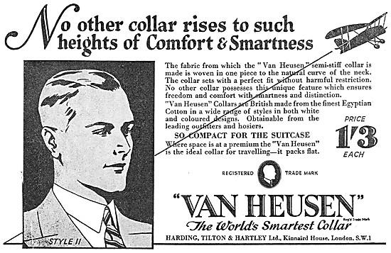 Van Heusen Semi-Stiff Collars 1934