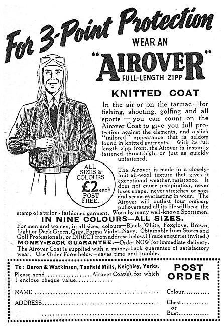 Baron & Watkinson Airover Knitted Flying Coat