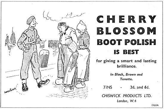 Cherry Blossom Boot Polish