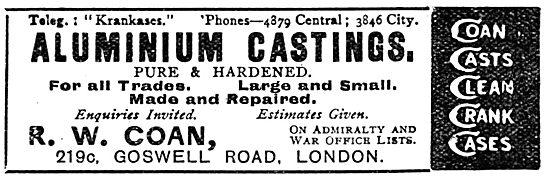 R.W.Coan  - Aluminium Castings