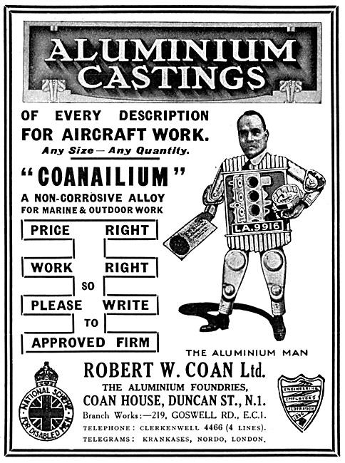 R.W.Coan Aluminium Castings