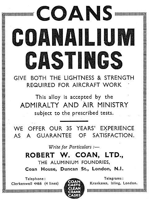 R.W.Coan - Coans Coanalium Castings