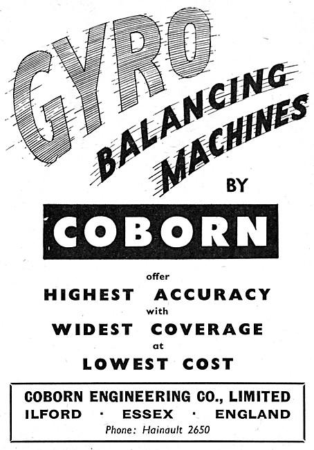 Cobron Gyro Balancing Machines