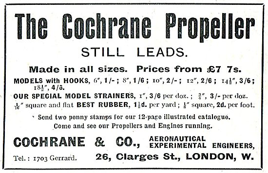 Cochrane & Co - The Cochrane Propeller Still Leads