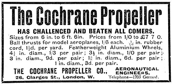 The Cochrane Propeller Company