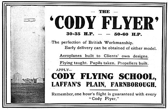Learn On The Cody Flyer - The Perfection Of British Workmanship
