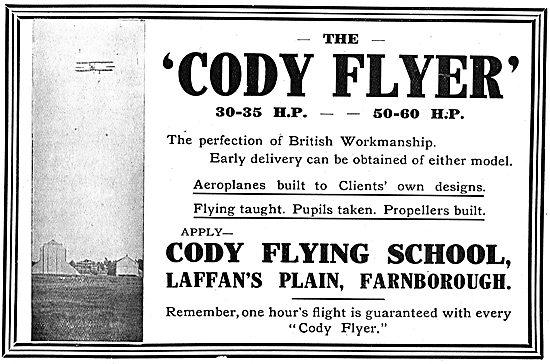 Learn On The Cody Flyer At The Cody Flying School Laffan's Plain