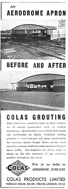 Colas Aerodrome Surfaces & Grouting For Large Buildings