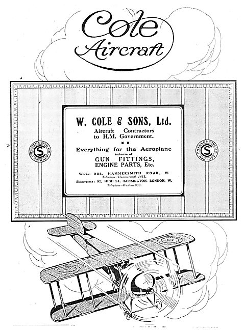 W.Cole & Sons. Cole Aircraft