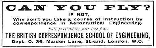 The British Correspondence School Of Engineering