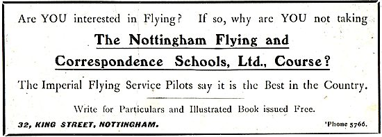 The Nottingham Flying And Correspondence Schools Ltd