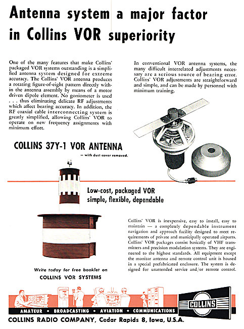 Collins 37Y-1 VOR Antenna