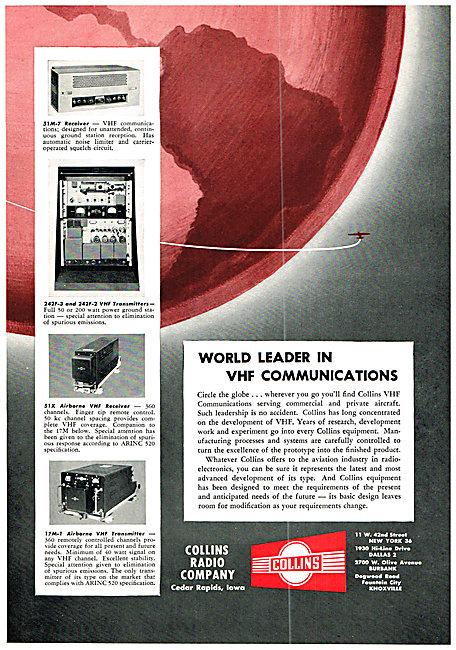 Collins VHF Communications Equipment