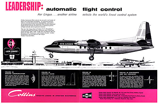 Collins Avioncs & Flight Guidance Systems 1957